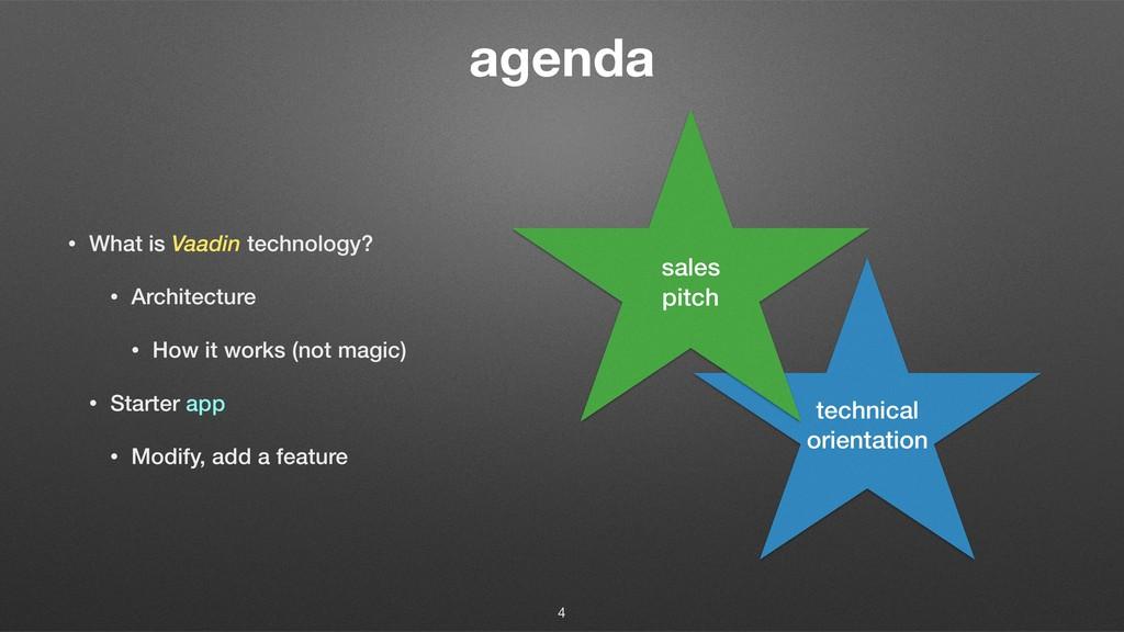 agenda • What is Vaadin technology? • Architect...