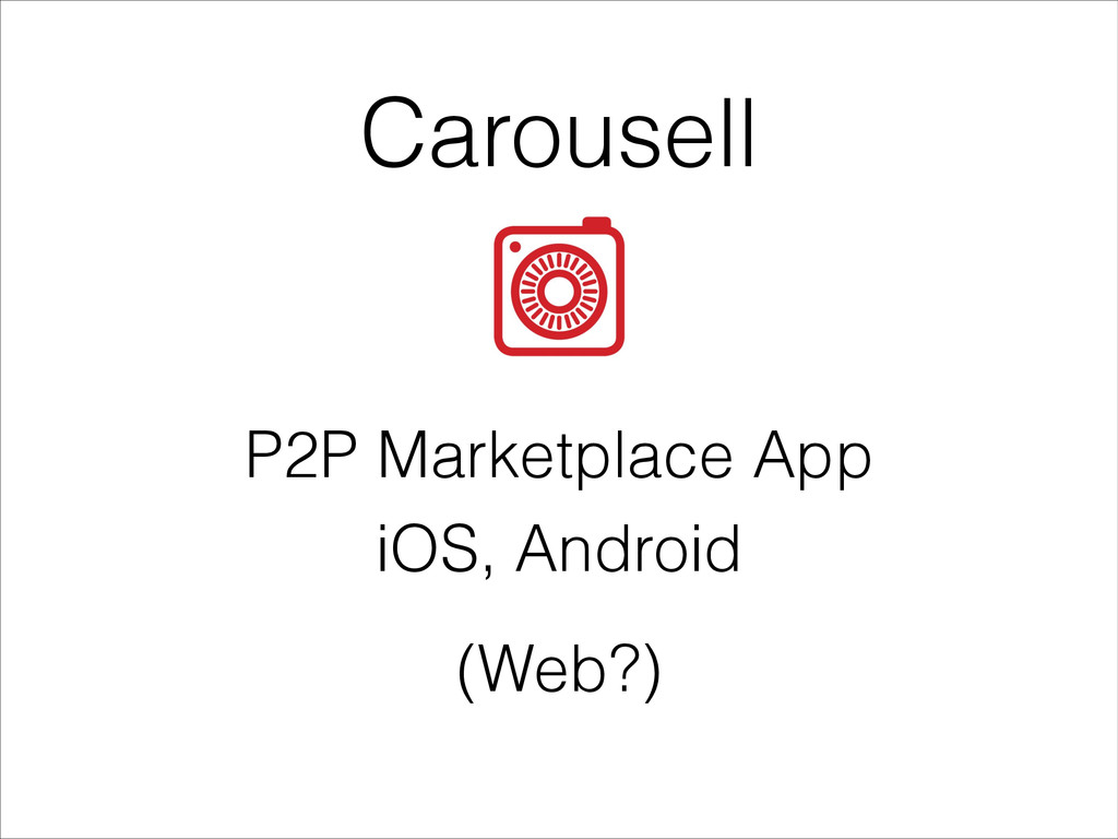 Carousell P2P Marketplace App iOS, Android (Web...