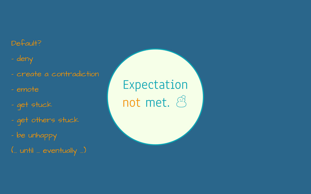 Expectation not met. ' - deny - create a contra...