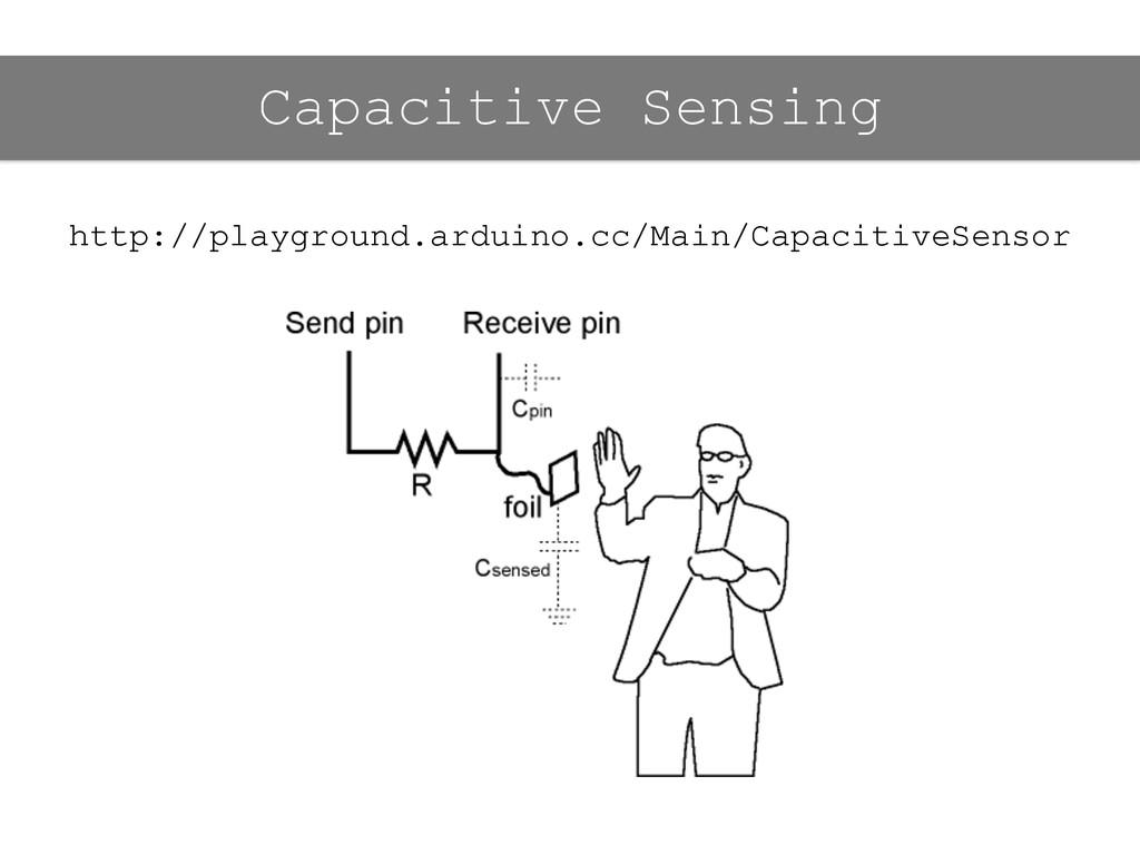 http://playground.arduino.cc/Main/CapacitiveSen...