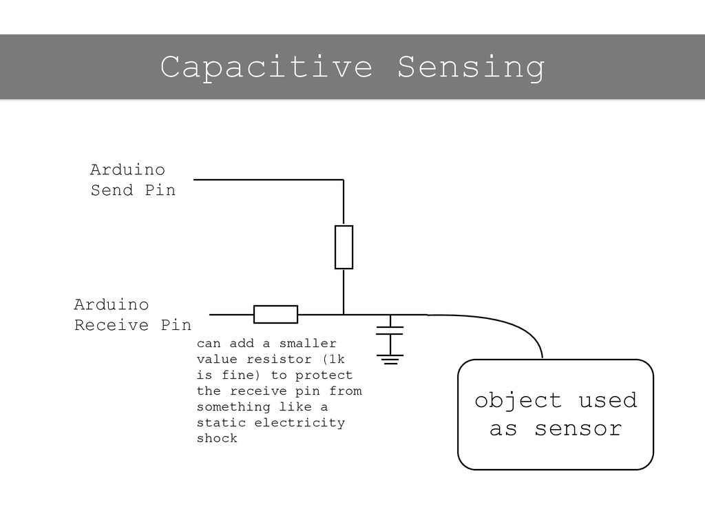object used as sensor can add a smaller value r...
