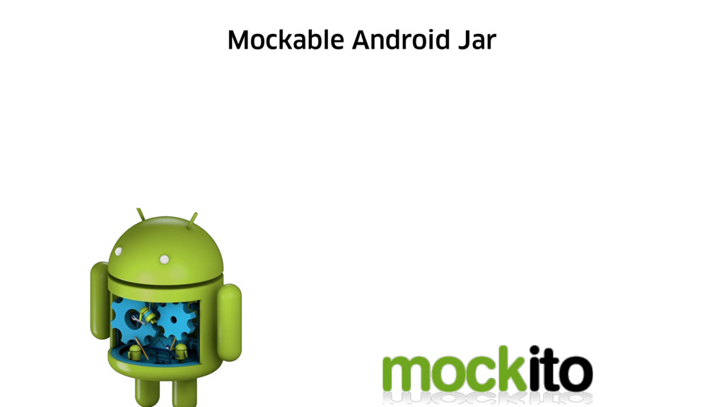 Mockable Android Jar