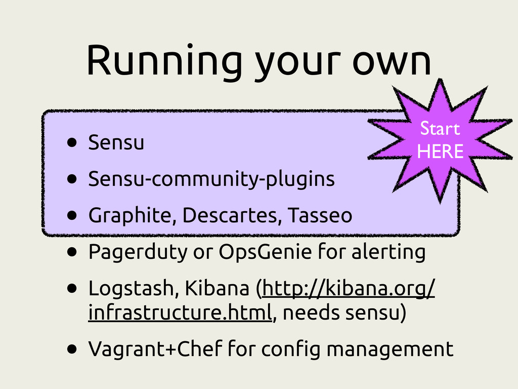 Running your own • Sensu • Sensu-community-plug...