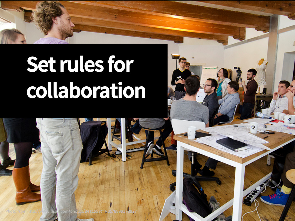 Set rules for collaboration Photo from h...