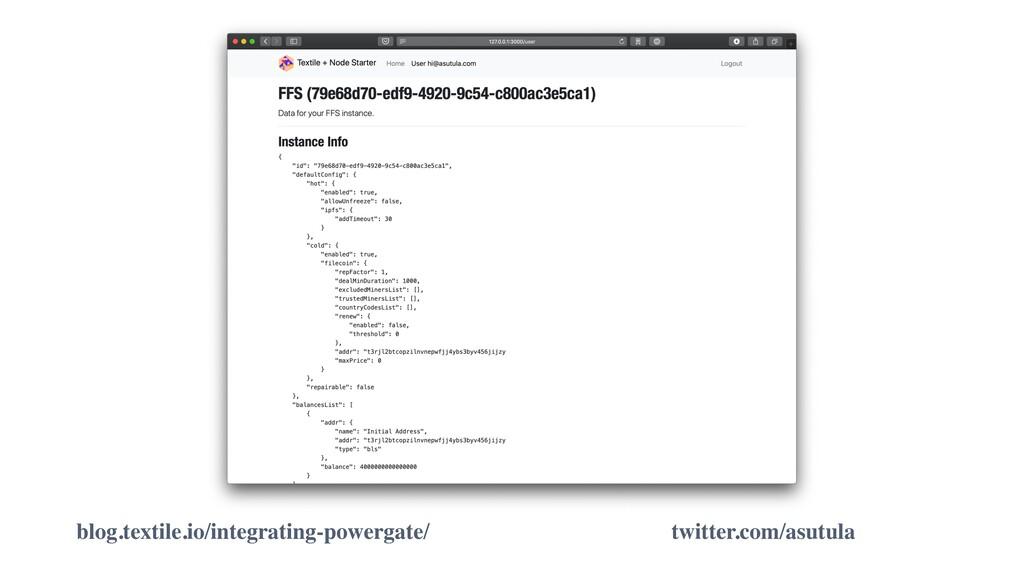 blog.textile.io/integrating-powergate/ twitter....