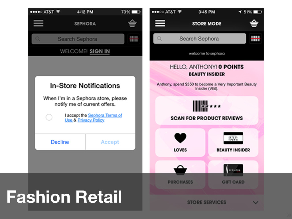 30 Fashion Retail