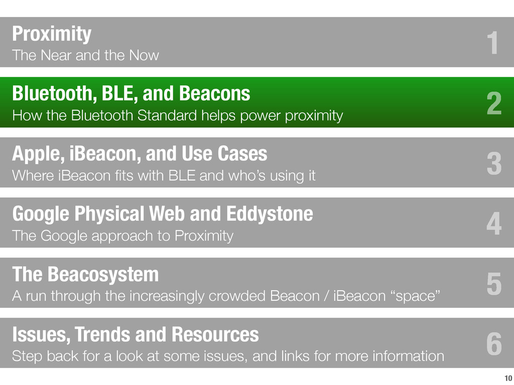 10 Bluetooth, BLE, and Beacons How the Bluetoot...