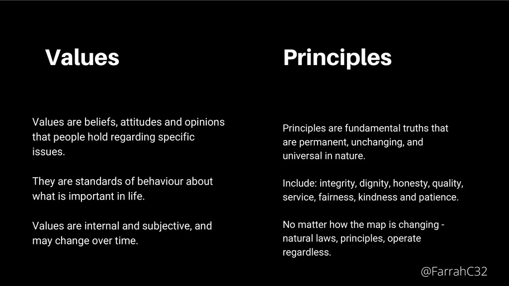 Values Values are beliefs, attitudes and opinio...