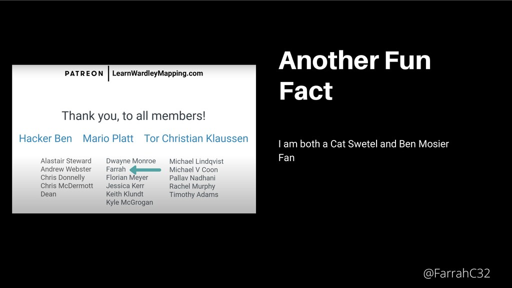 Another Fun Fact I am both a Cat Swetel and Ben...