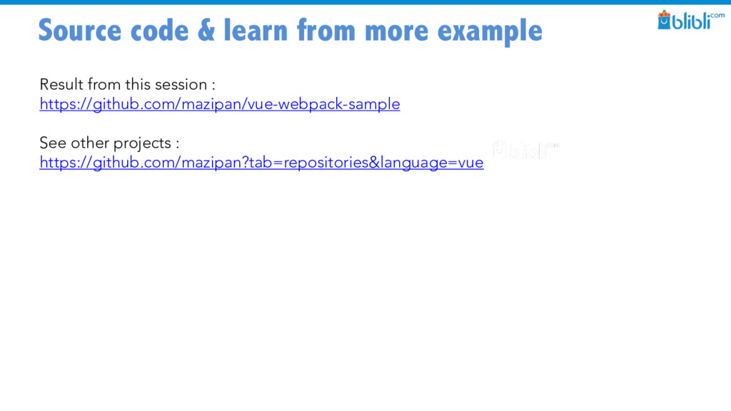 Source code & learn from more example Result fr...
