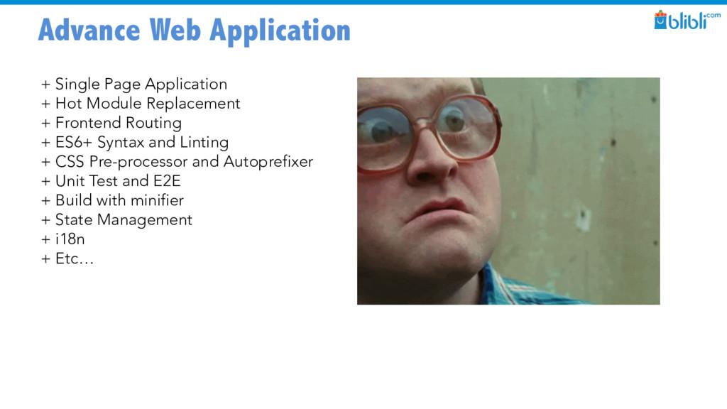 Advance Web Application + Single Page Applicati...