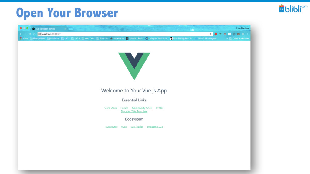 Open Your Browser