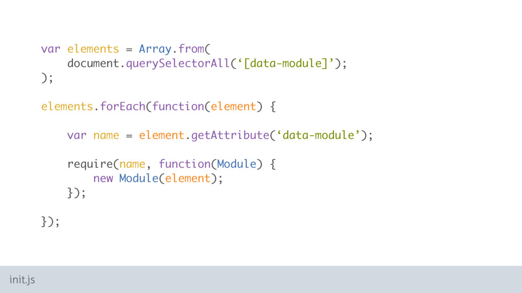 var elements = Array.from( document.querySelect...