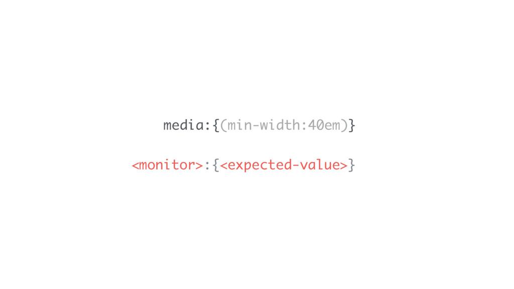 media:{(min-width:40em)} <monitor>:{<expected-v...