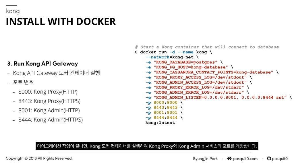 3. Run Kong API Gateway - Kong API Gateway بழ ஶ...