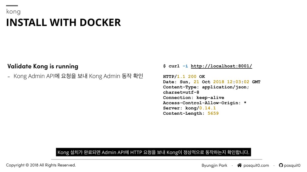 Validate Kong is running - Kong Admin APIী ਃਸ ...