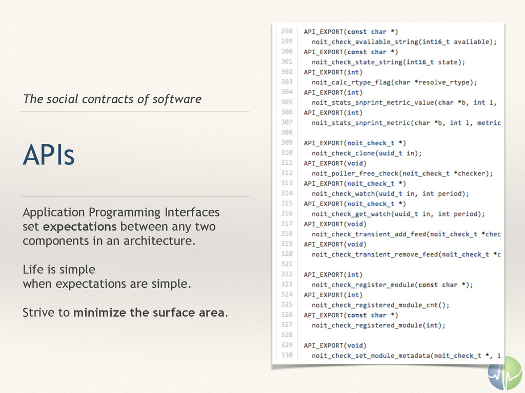 The social contracts of software APIs Applicati...