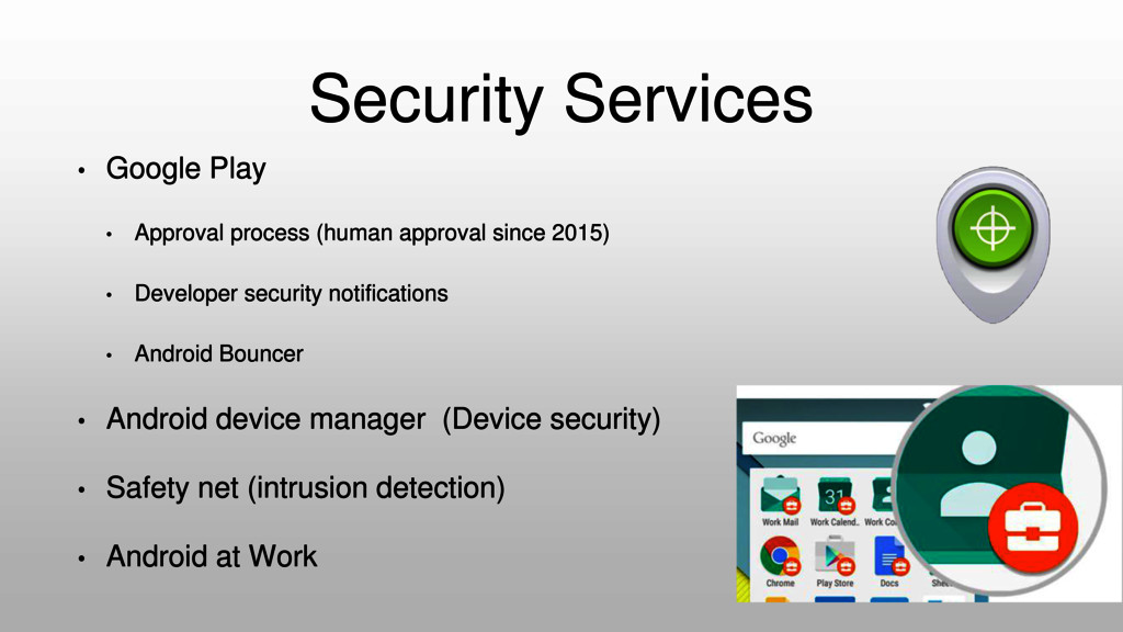 Security Services • Google Play • Approval proc...