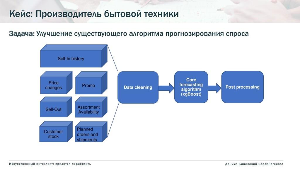 Задача: Улучшение существующего алгоритма прогн...