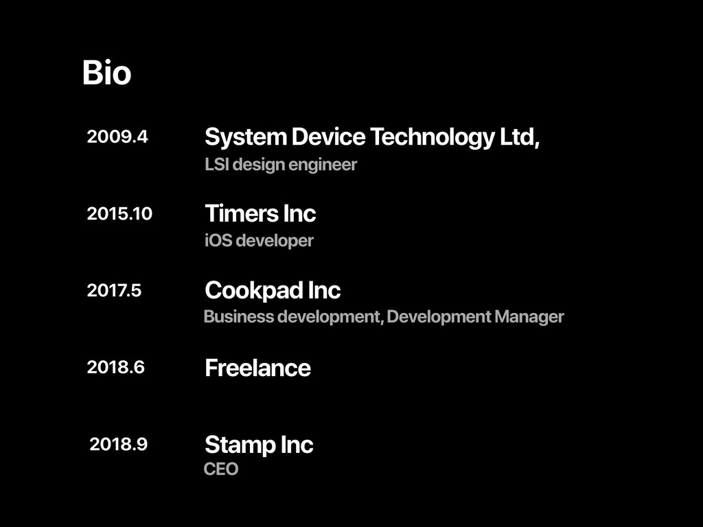 System Device Technology Ltd, 2017.5 2015.10 20...