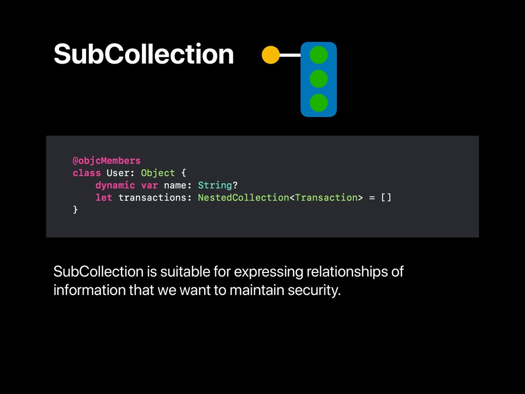 SubCollection SubCollection is suitable for exp...