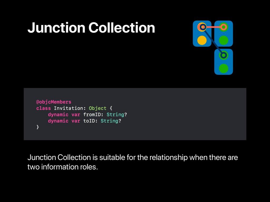 Junction Collection Junction Collection is suit...