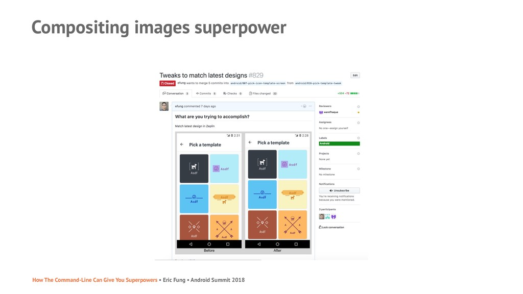 Compositing images superpower How The Command-L...