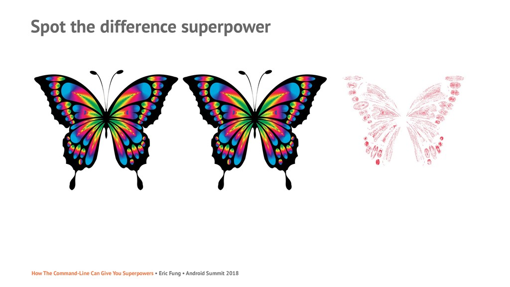 Spot the difference superpower How The Command-...