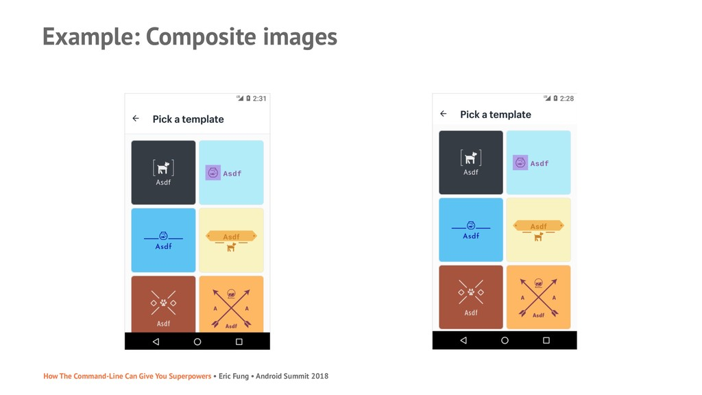 Example: Composite images How The Command-Line ...