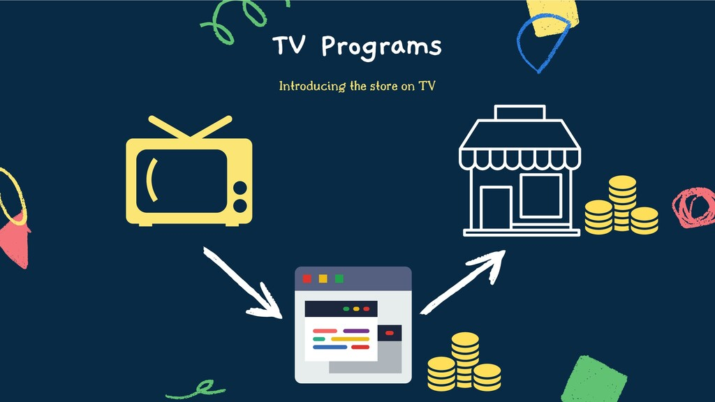 TV Programs Introducing the store on TV