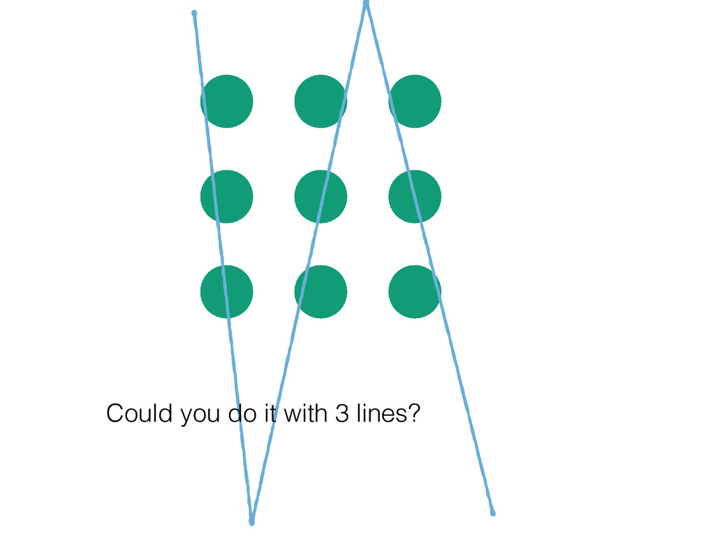 Could you do it with 3 lines?