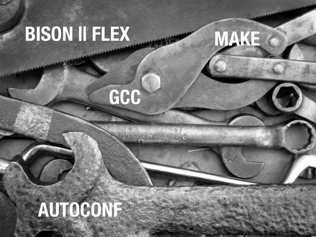 MAKE AUTOCONF GCC BISON || FLEX