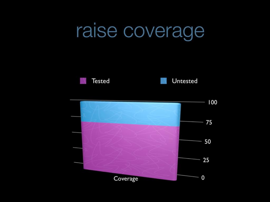 raise coverage