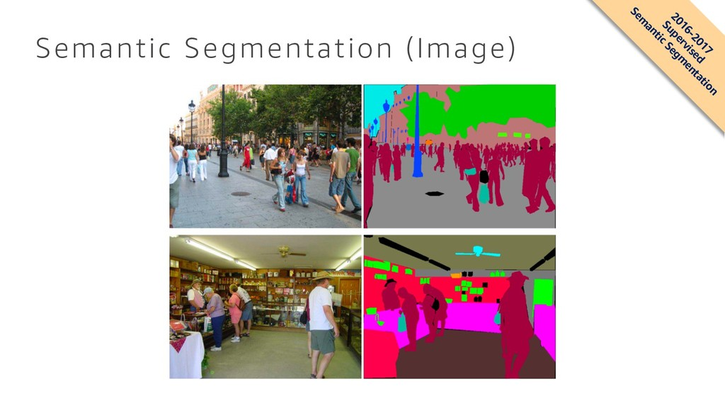 Semantic Segmentation (Image) 2016-2017 Supervi...