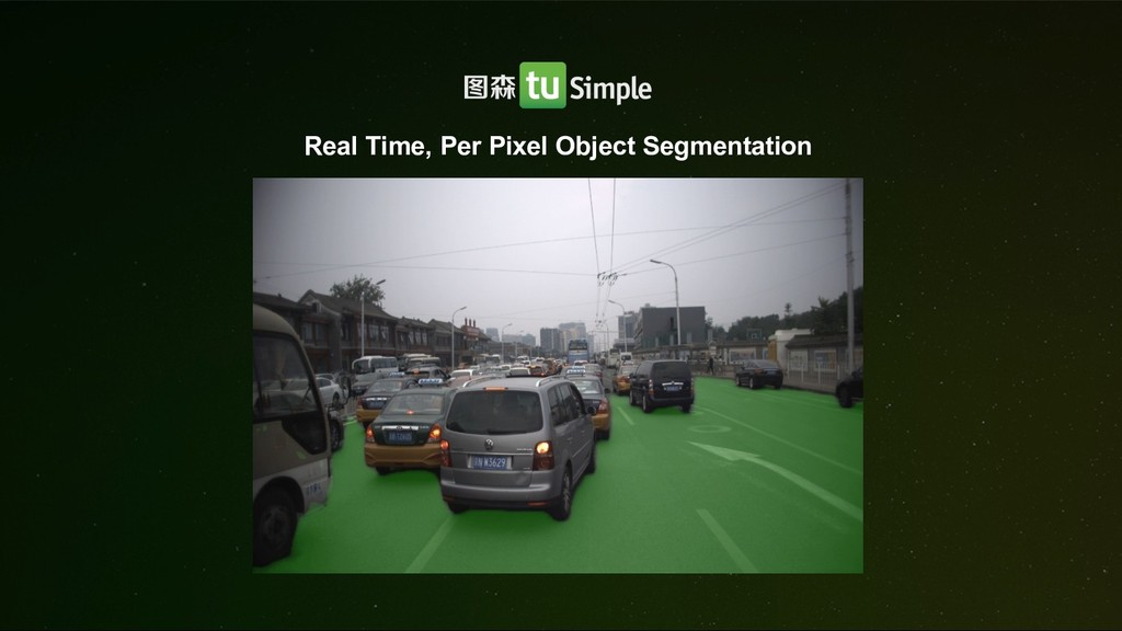 Real Time, Per Pixel Object Segmentation