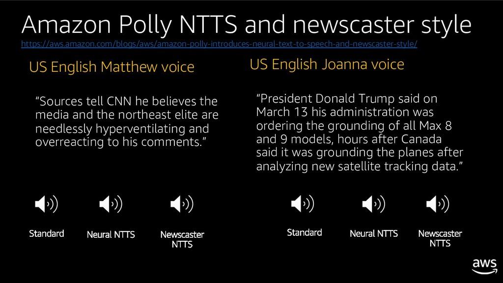 "US English Matthew voice ""Sources tell CNN he b..."