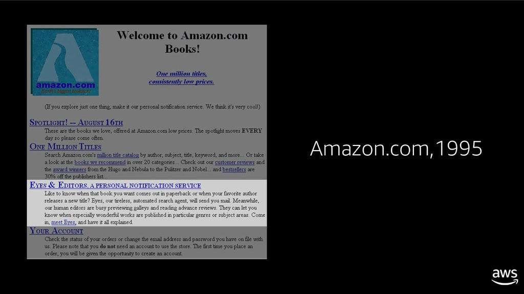 Amazon.com,1995