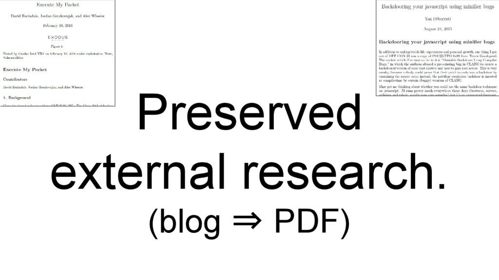 Preserved external research. (blog ⇒ PDF)