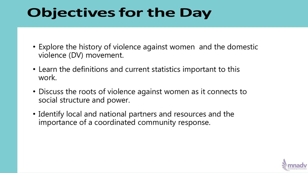 • Explore the history of violence against women...