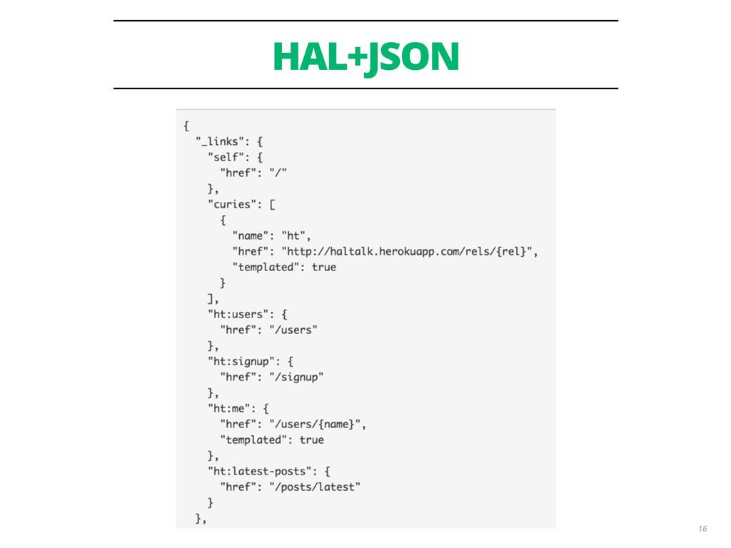 HAL+JSON 16