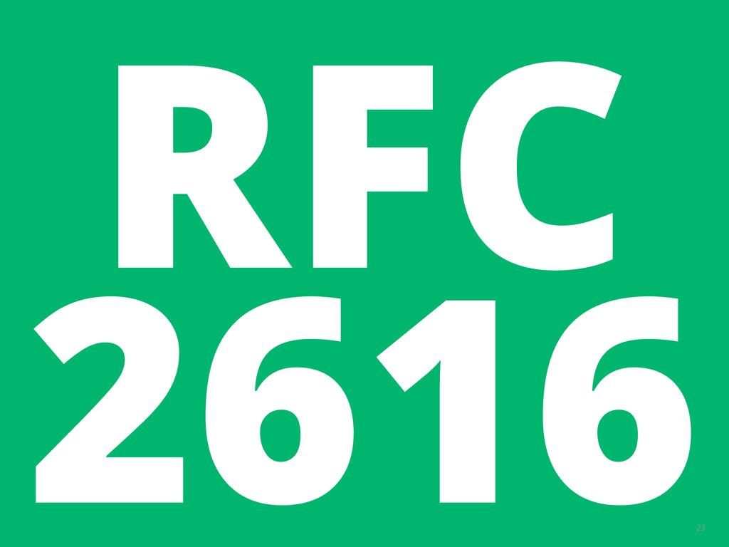 23 RFC 2616