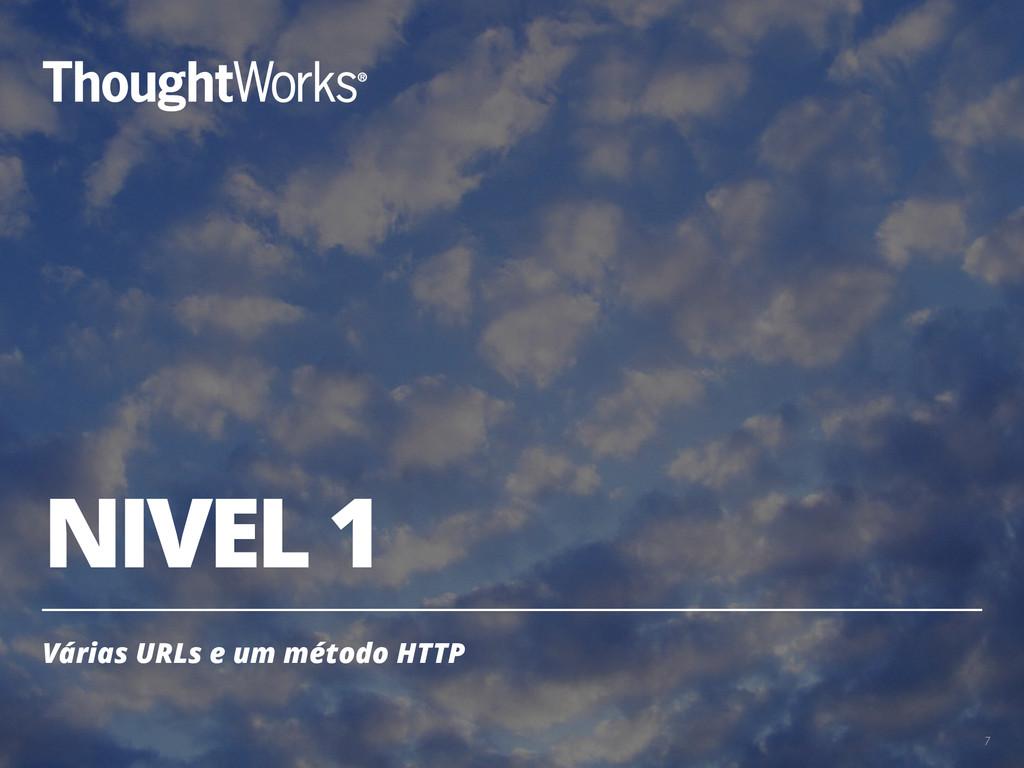 NIVEL 1 Várias URLs e um método HTTP 7
