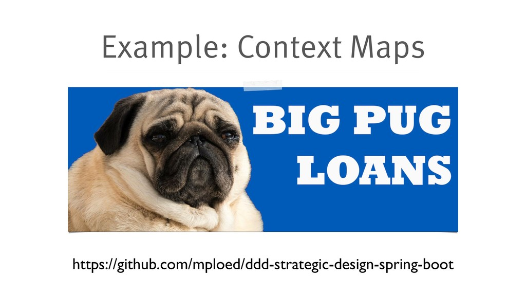 Example: Context Maps https://github.com/mploed...
