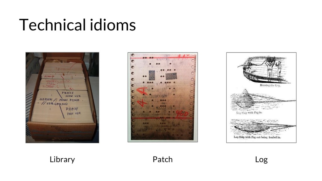 Technical idioms Library Patch Log
