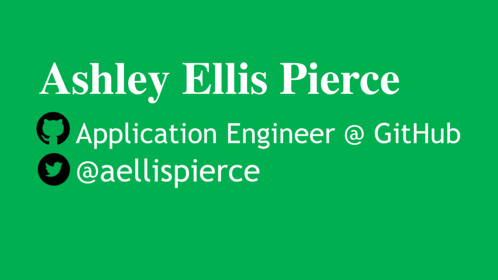 Ashley Ellis Pierce