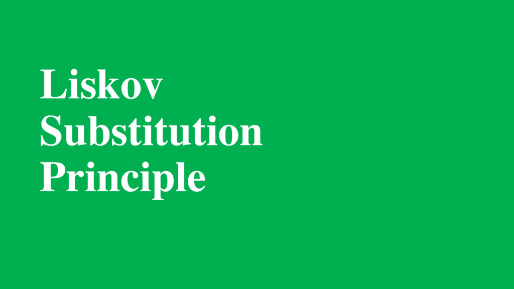 Liskov