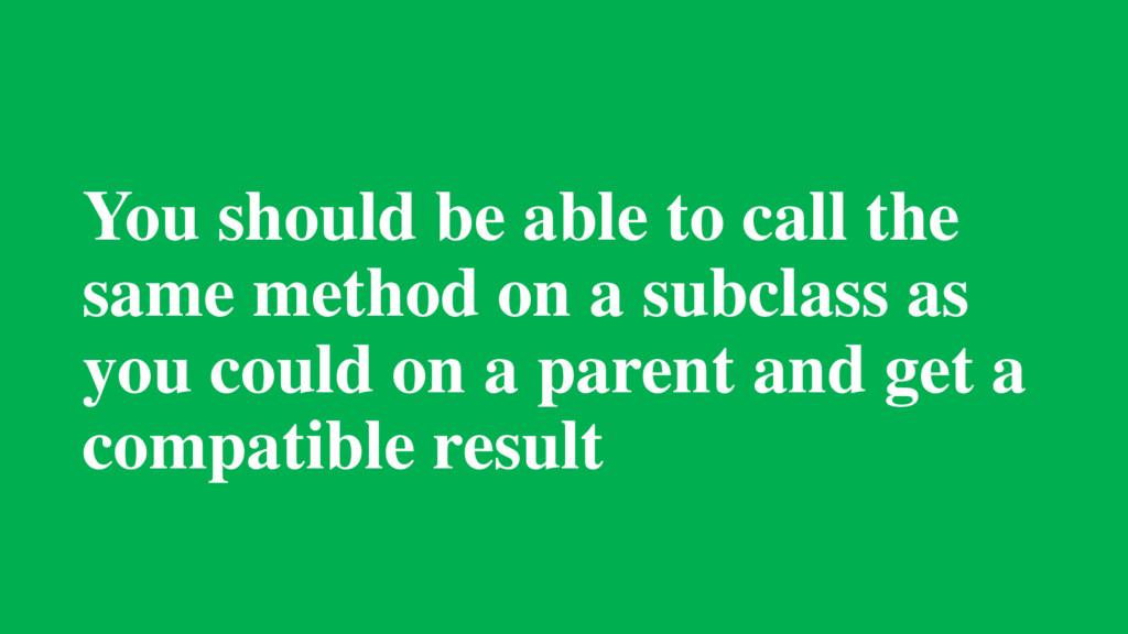You should be able to call the same method on a...