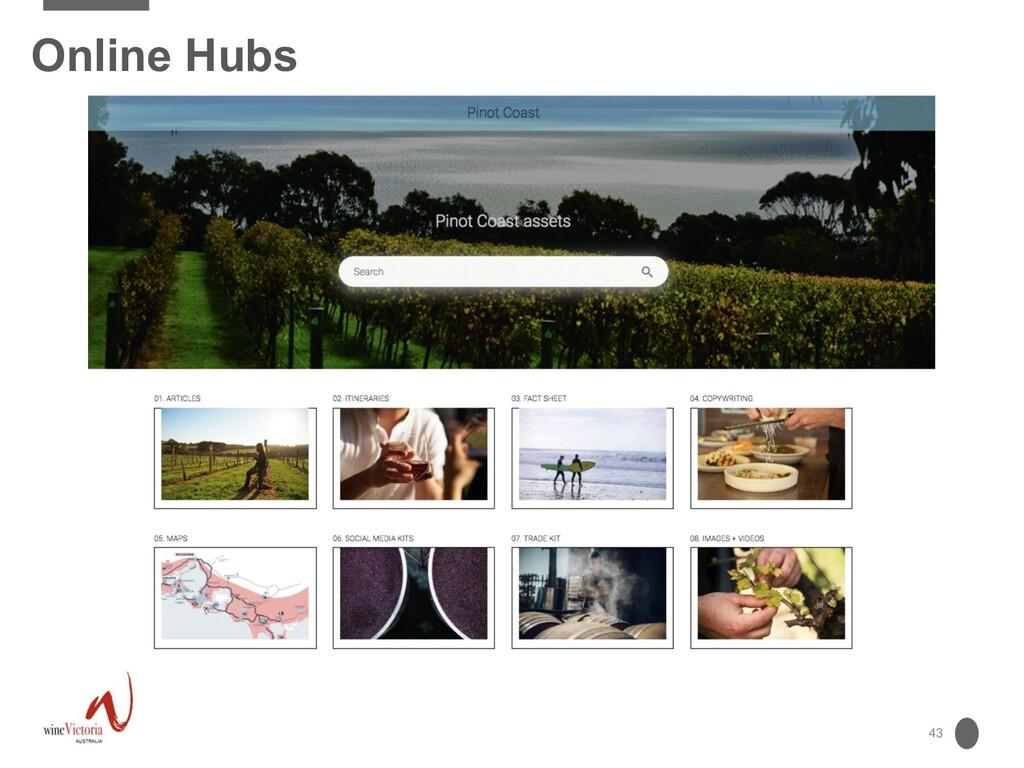 43 Online Hubs