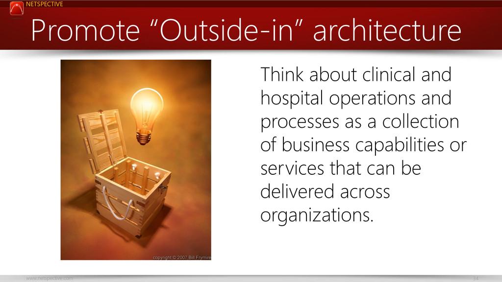 "NETSPECTIVE www.netspective.com 34 Promote ""Out..."