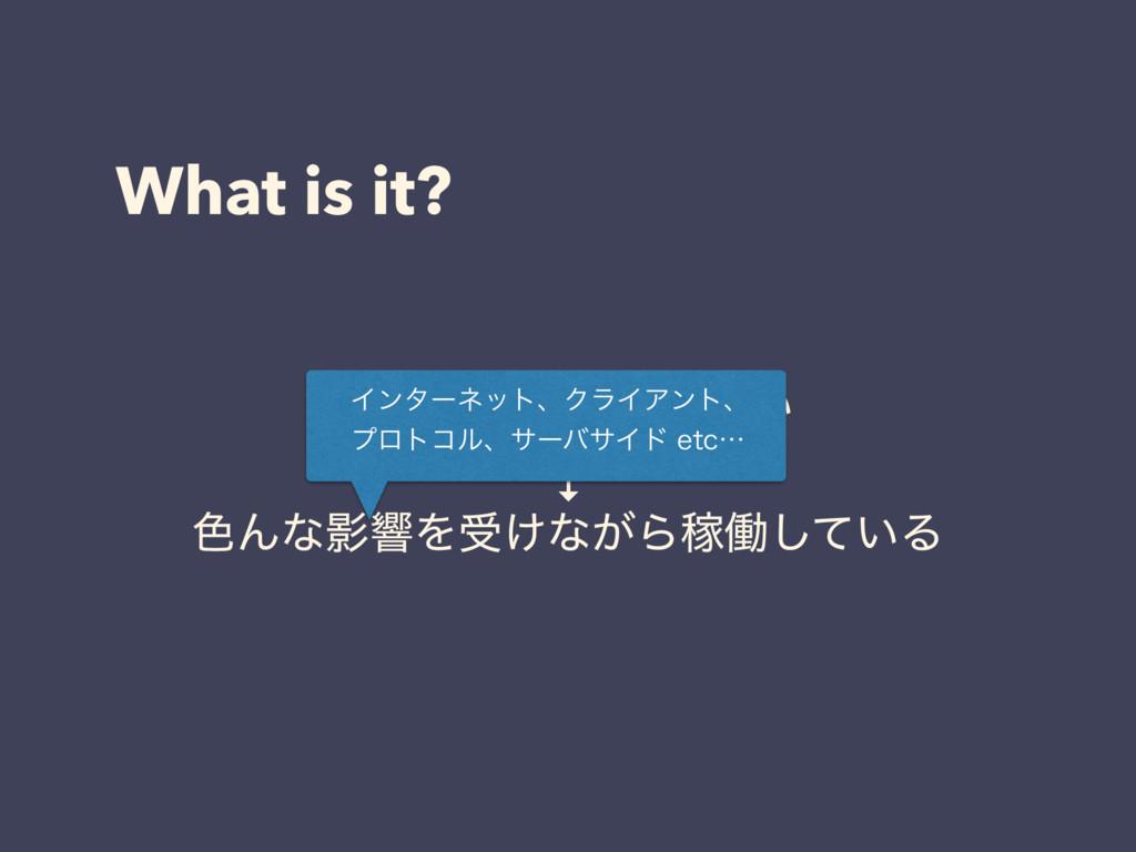 What is it? WebαʔϏε͍͠ ↓ ৭ΜͳӨڹΛड͚ͳ͕ΒՔಇ͍ͯ͠Δ Πϯλ...